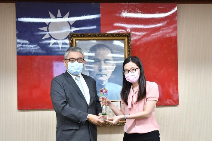 內政部表揚廉能公務人員
