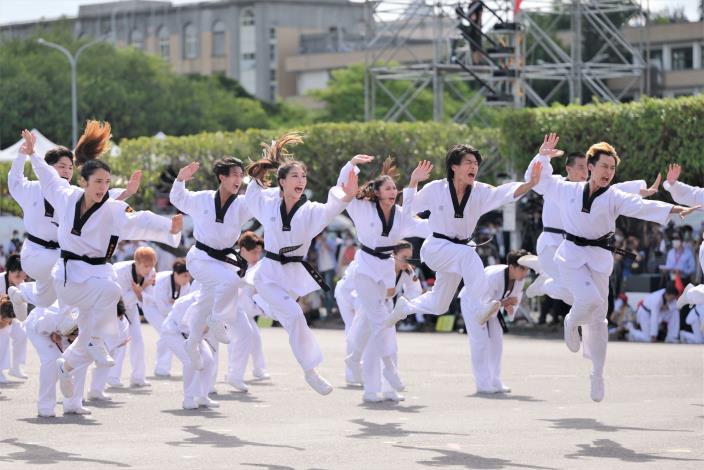 中華民國中樞暨各界慶祝110年國慶大會剪影