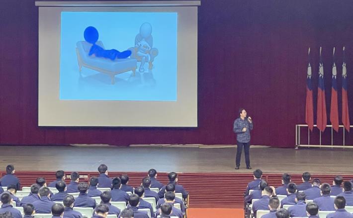 臨床心理師張純吉先生演講「戀愛補習班」2.JPG