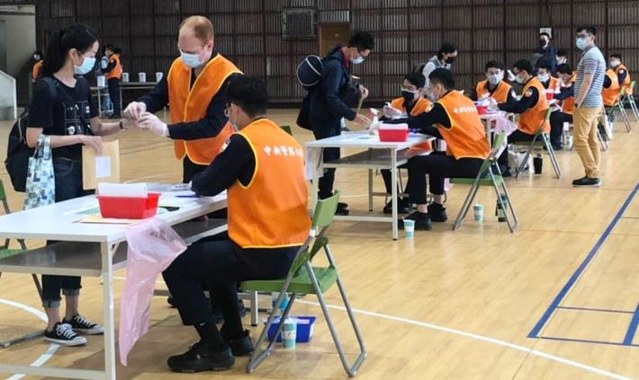 考試當日設置7個防疫檢測站