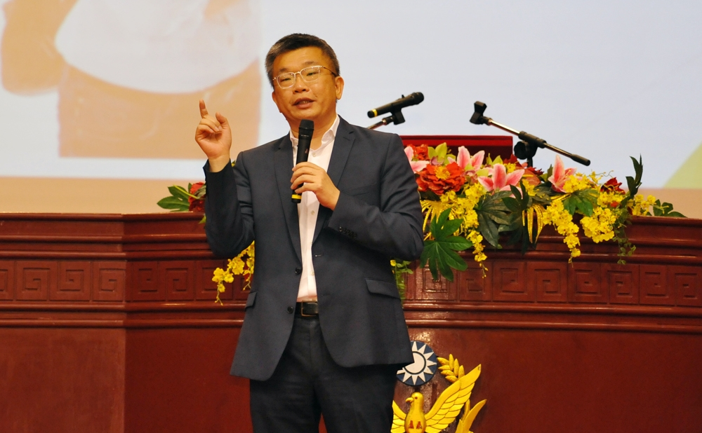 立法院副院長蔡其昌專題演講「後背包的初心」1
