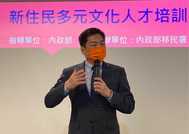 陳宗彥次長於活動現場致詞
