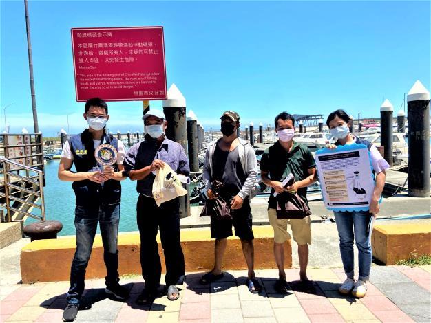 向外籍漁工及船東宣導相關防疫資訊