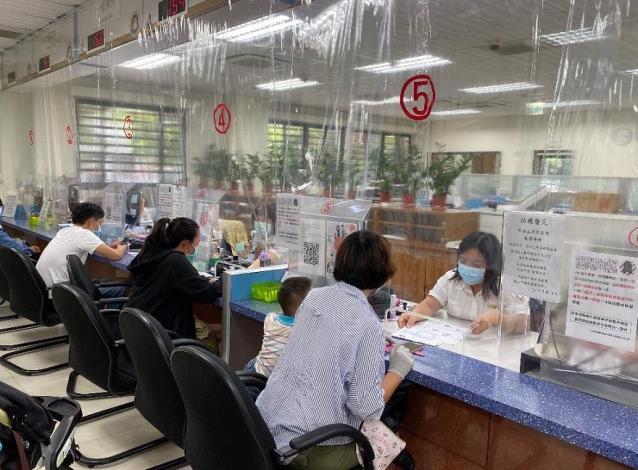 移民署臺中市第一服務站-解封後民眾到站申辦案件