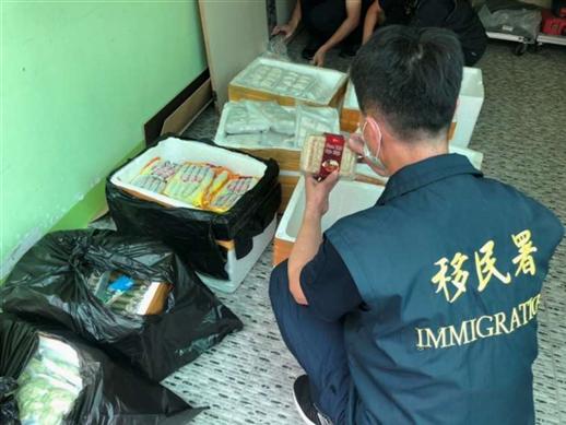 移民署查獲來源不明越南豬肉製品驗出非洲豬瘟陽性 01