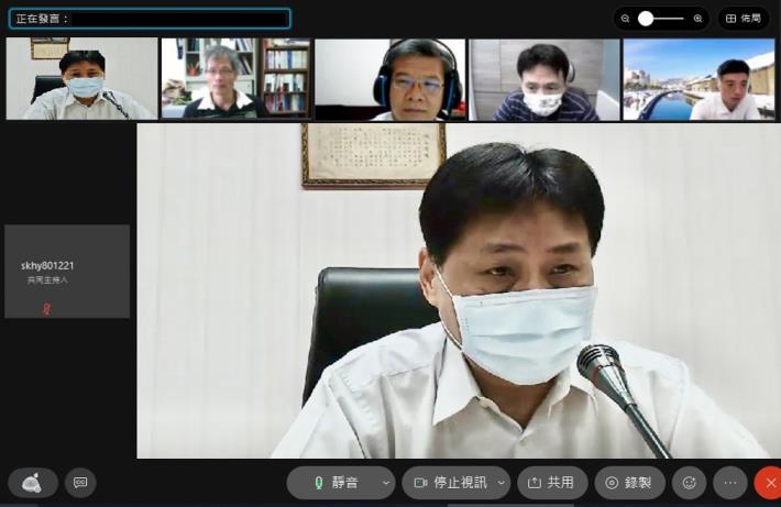 校長陳檡文勉勵同仁多加關心學生身心狀況