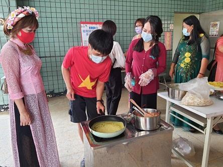 移民署辦越南婦女節活動邀新住民一起體驗多元文化美食活動照片