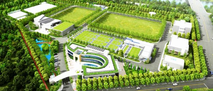 永康水資源回收中心建設完成願景圖
