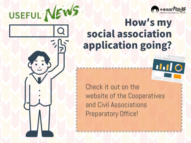 To Catch the Latest Process of Your Social Association Application, Just Visit the Website of the Cooperatives and Civil Associations Preparatory Office!.PNG