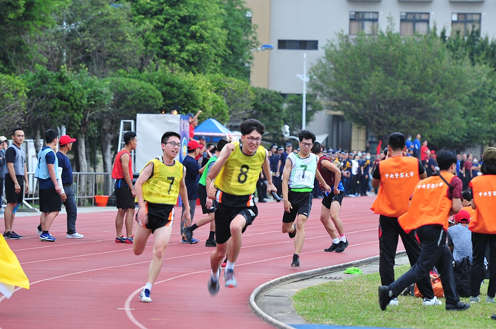 The track and field competition.