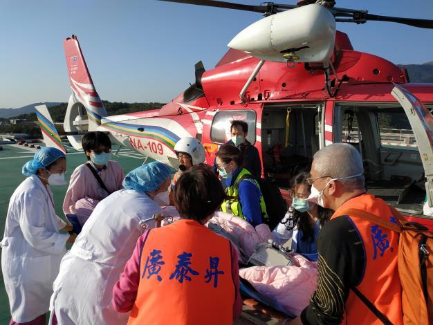 1100131金門民眾妊娠第三期緊急醫療後送任務.jpg