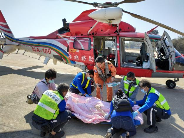1100131金門民眾妊娠第三期緊急醫療後送任務2.jpg