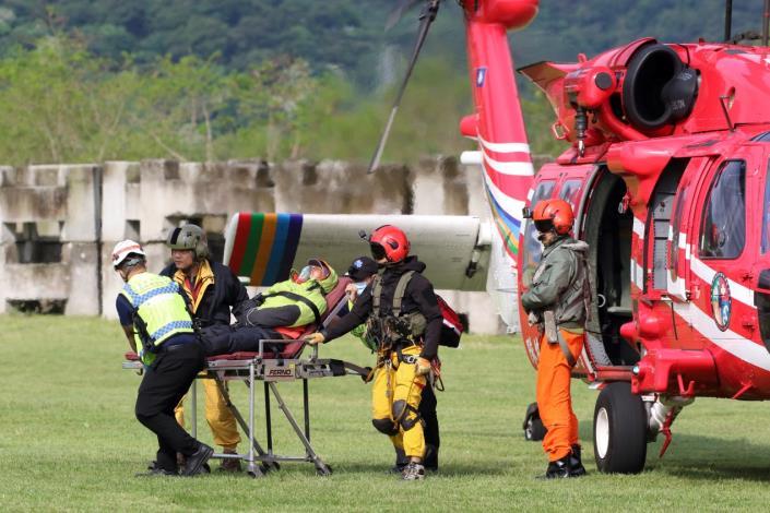 1100410太魯閣大山登山客山難救援任務