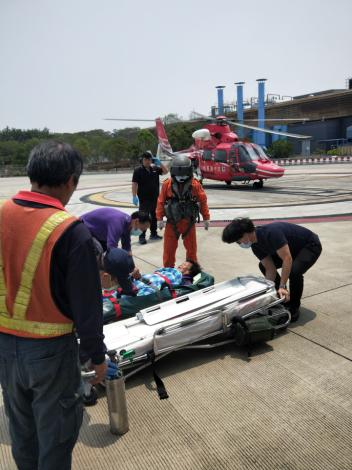 1100420澎湖馬公病患緊急醫療後送任務