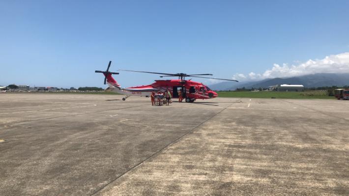 1100506綠島緊急醫療空中轉診任務