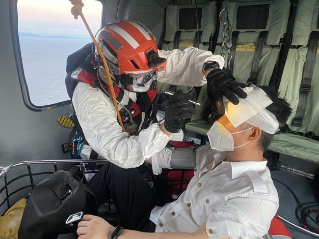 1100706海難搜救傷患運送任務2