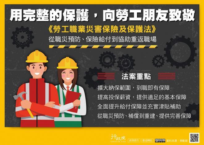 勞工職業災害保險及保護法-1