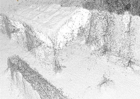 UAS影像匹配點雲