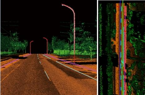 自動萃取道路研究成果