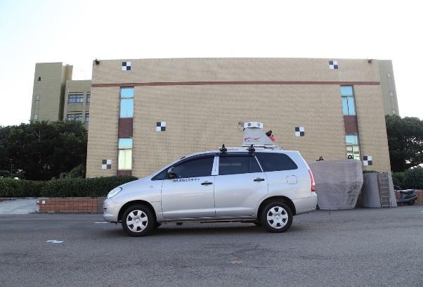 車載式光達移動測繪系統率定試辦作業情形