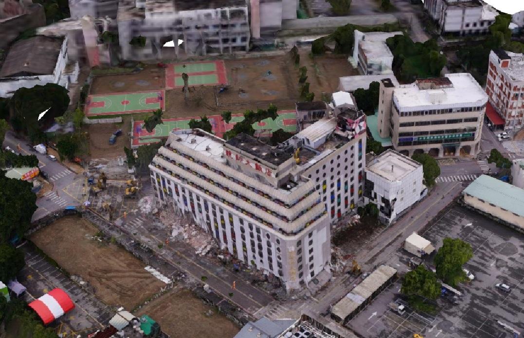 統帥飯店三維影像