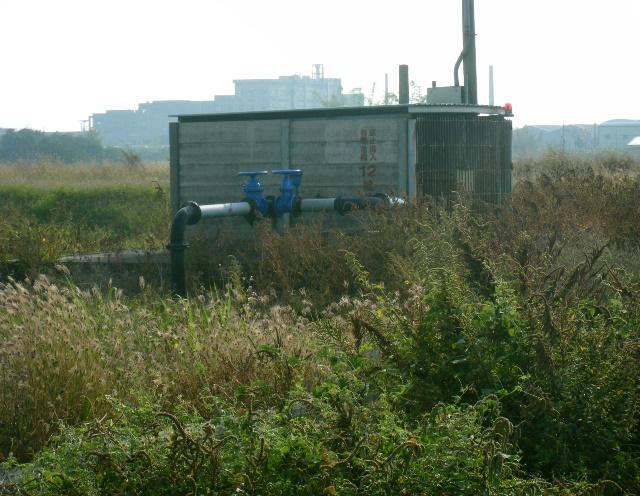 灌溉用抽水設施