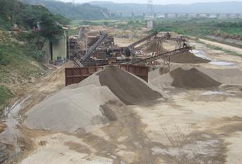 土石採取場
