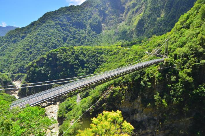 Shanyue Suspension Bridge_Source_From_Taroko N. P