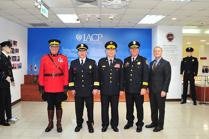 The Opening Ceremony of the IACP Exhibition Area in CPU