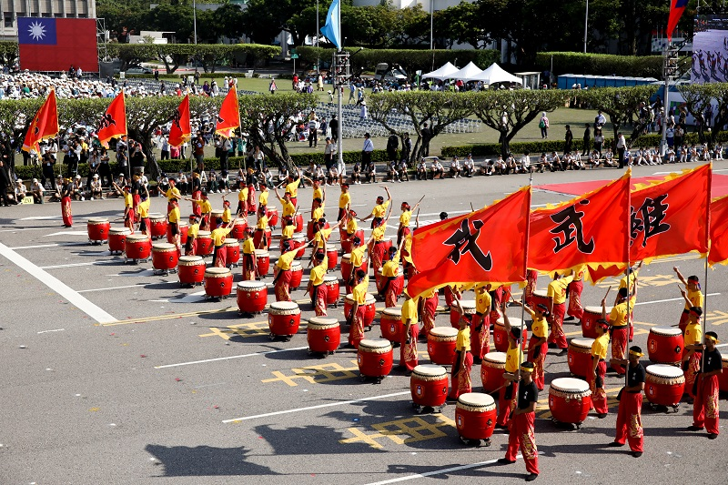 Drums team by Army Academy Republic of China