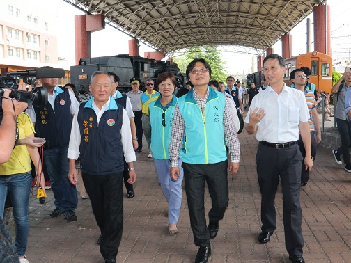 Interior Minister visits Miaoli 's development project sites