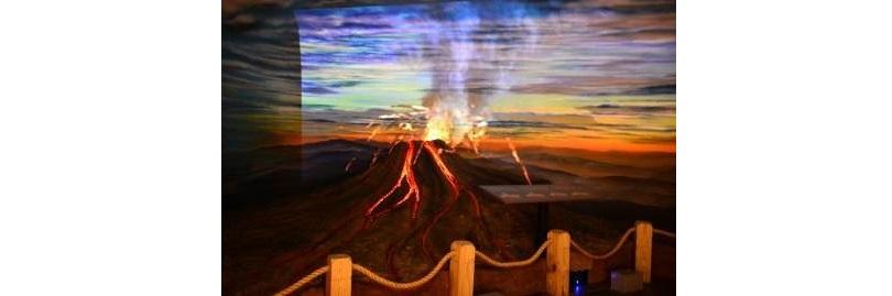 透過火山模型模擬大屯火山群噴發過程