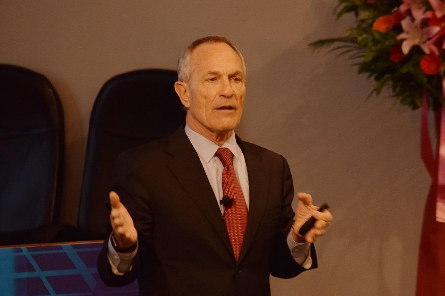美國前國土安全部助理部長Alan Bersin來臺擔任講者