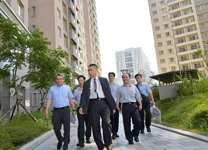 徐部長於今年7月17日訪視林口社會住宅