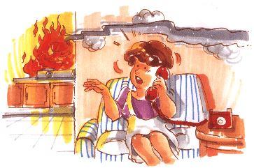圖5人離火熄,預防火災