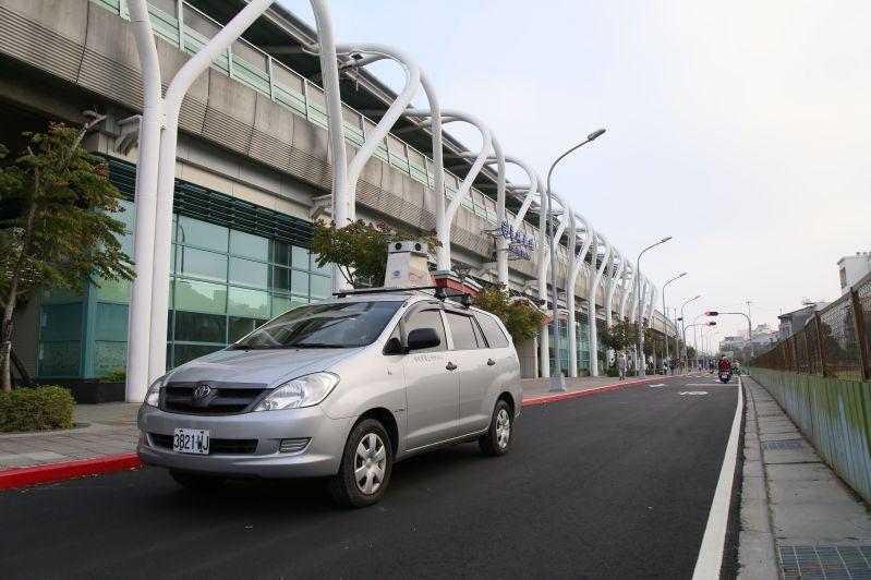 車載光達移動測繪系統外業執行情形