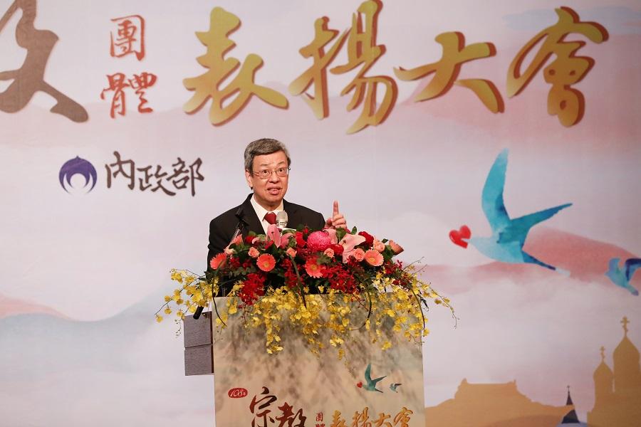 陳建仁副總統蒞臨會場致詞