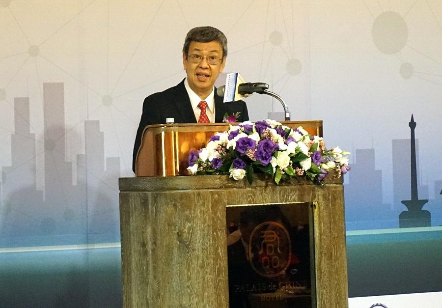 陳副總統出席致詞肯定雙方交流