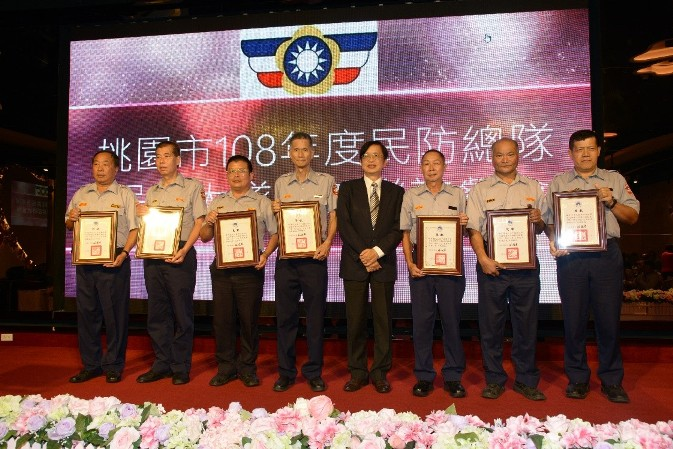 表揚服務資深民防人員