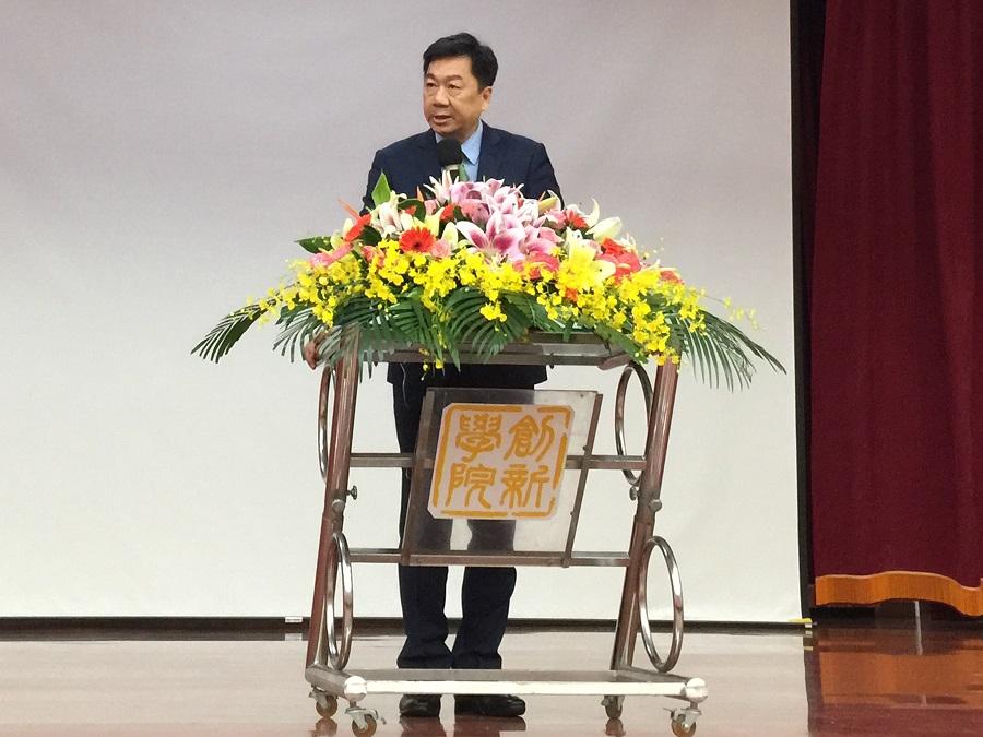 內政部陳政務次長宗彥與出席致詞肯定獲獎地方政府