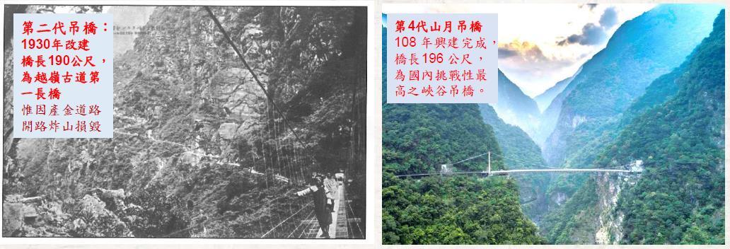 山月吊橋的歷史
