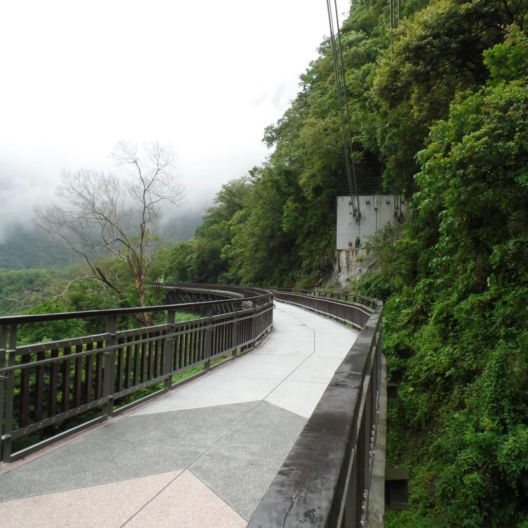 採高架棧道減少對環境擾動