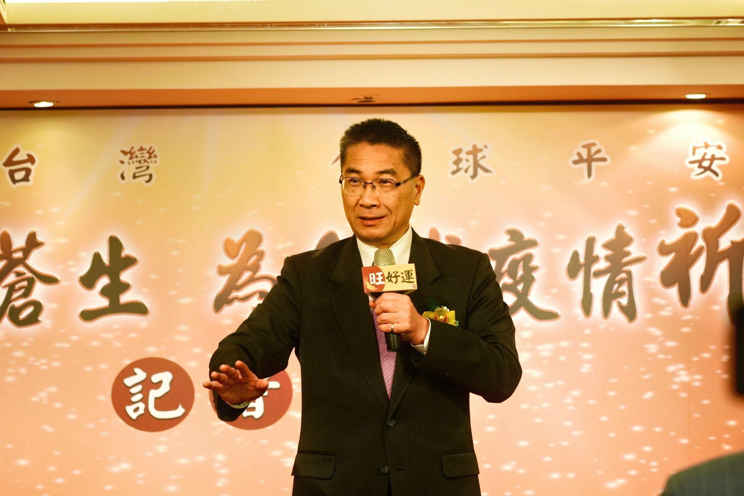 徐國勇:大型宗教活動應依疫情發展,考慮延期舉辦