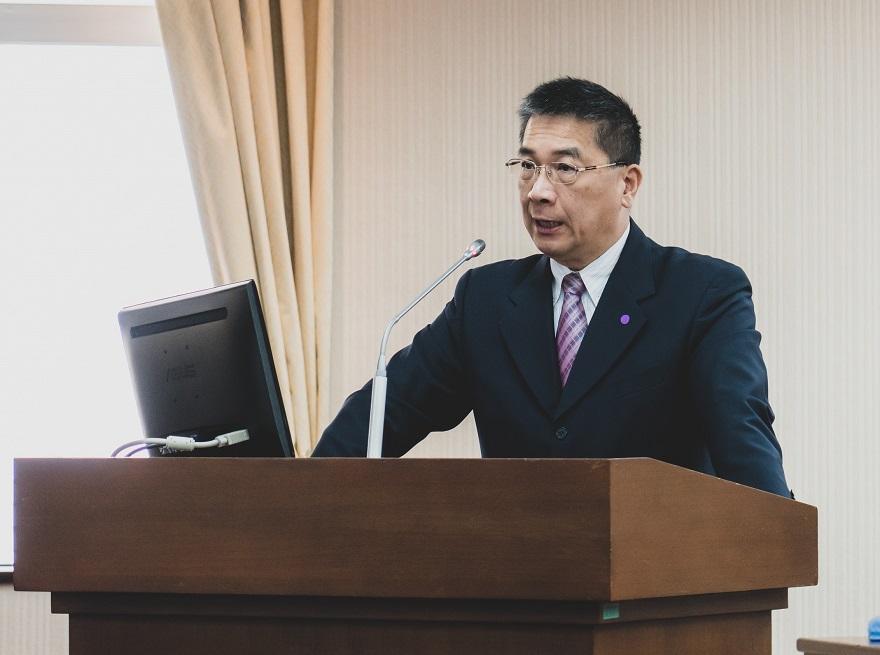 內政部徐部長赴立法院內政委員會報告業務概況
