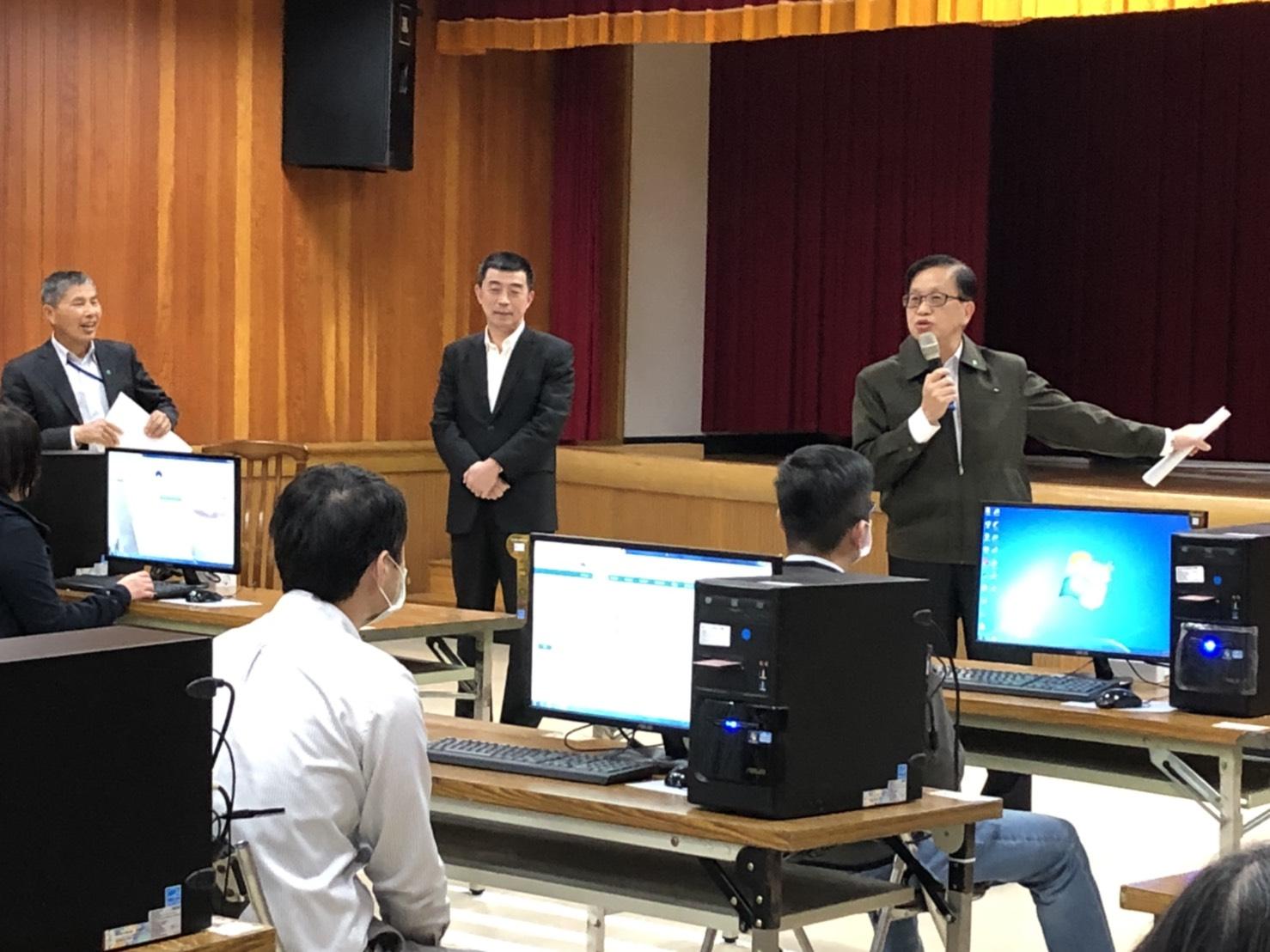 內政部異地辦公場所、事務機具、電腦設備等均已整備完成