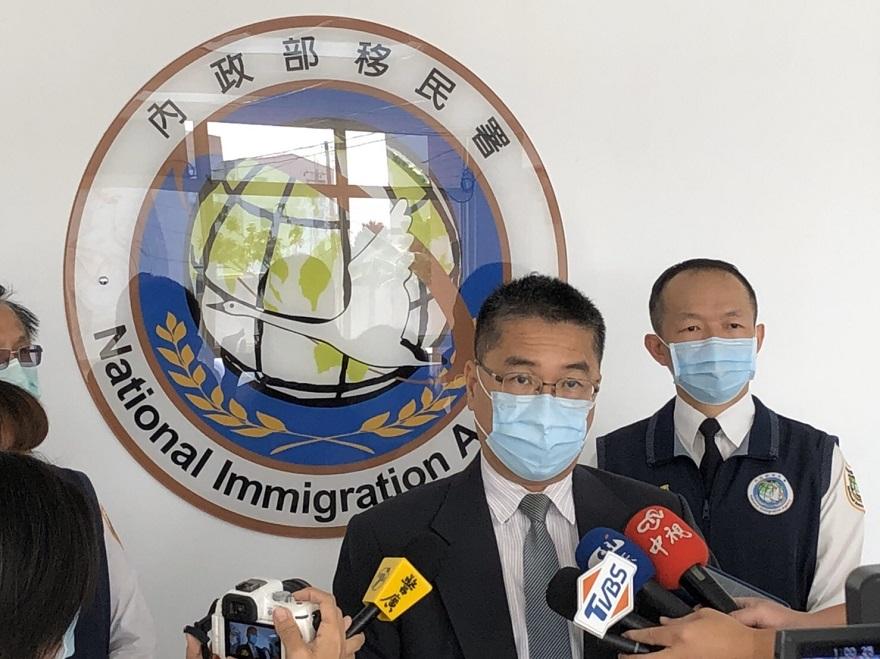 內政部部長瞭解移民署高雄機場防疫措施4