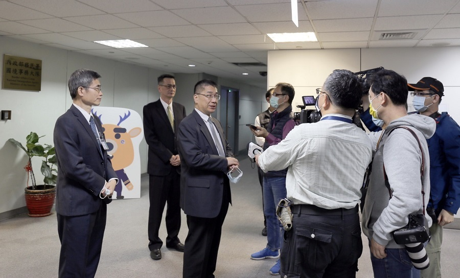 徐部長於會後接受多家媒體採訪