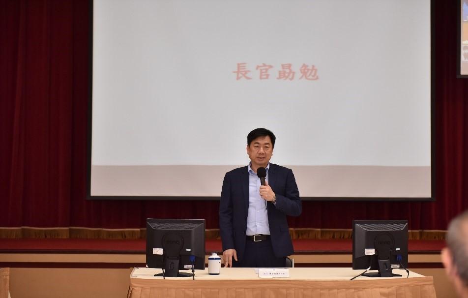 陳次長宗彥以CECC副指揮官身分出席警政署署務會報