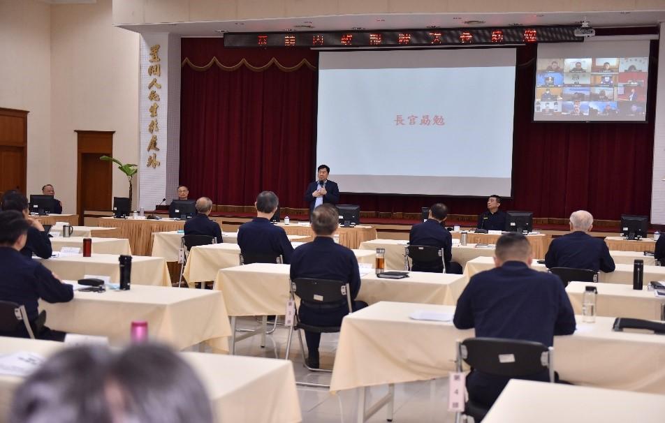 陳次長宗彥與全國警察人員視訊