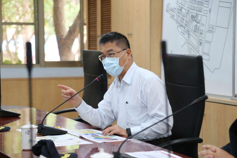 徐國勇部長巡視前致詞